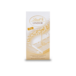 Tavoletta Lindor Bianco 100g